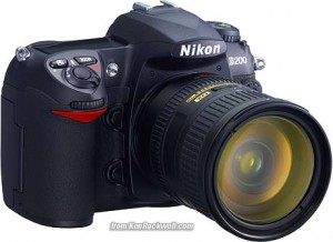 Nikon D200 Digital SLR Camera